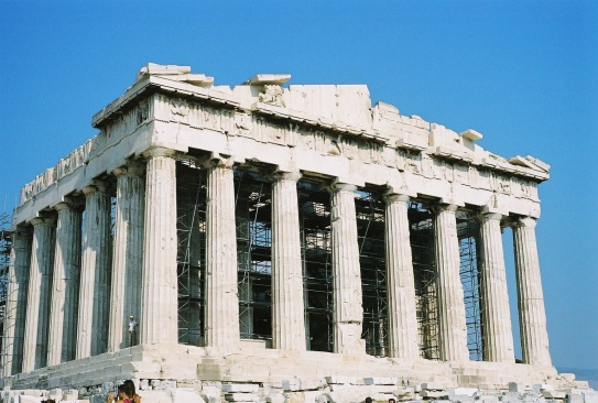 Completed in 438 BC and considered to be the most important surviving building of Classical GreeK Architecture and one of the world's most important cultural monuments.